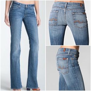 7 For All Mankind Boot Cut Jeans Denim Size 26